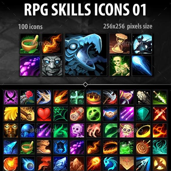 RPG Skills Icons 01