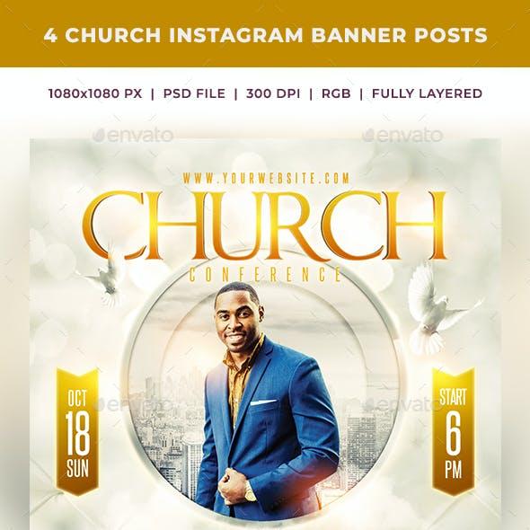 Church Instagram Banner Posts 5