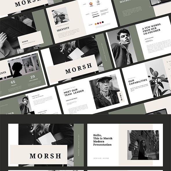Morsh - Business Keynote Template
