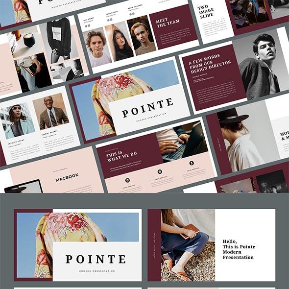 Pointe - Business Google Slides Template
