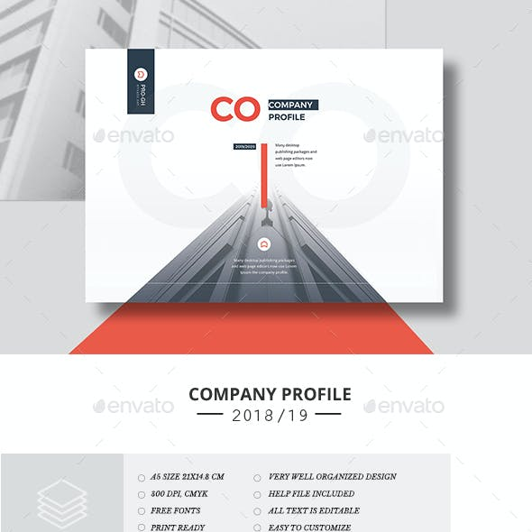 Company Profile 16 Pages Landscape