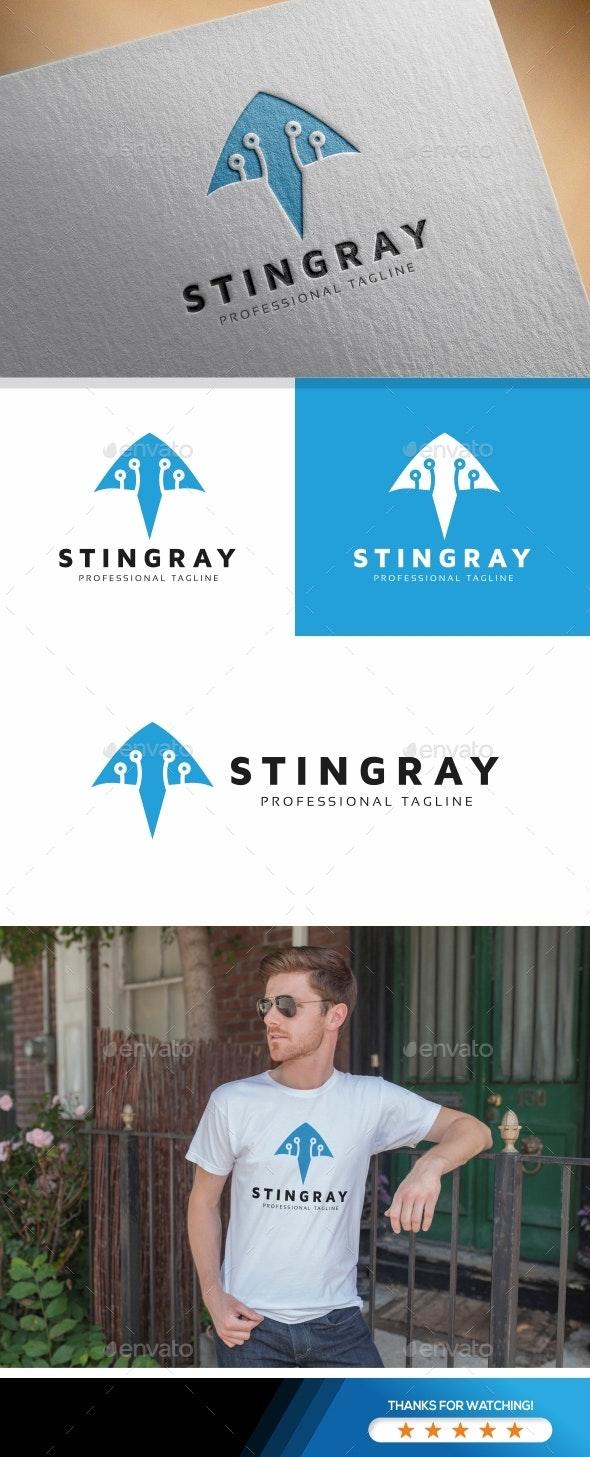 Stingray Logo - Animals Logo Templates