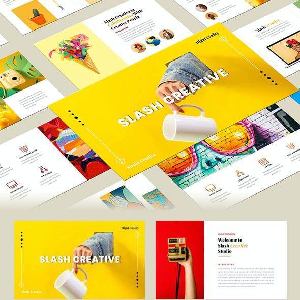Slash – Creative Business Google Slides