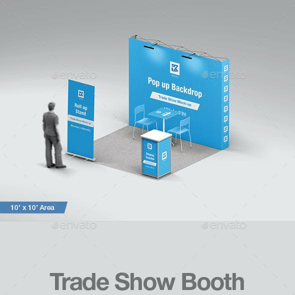 Trade Show Booth Mock-up v1