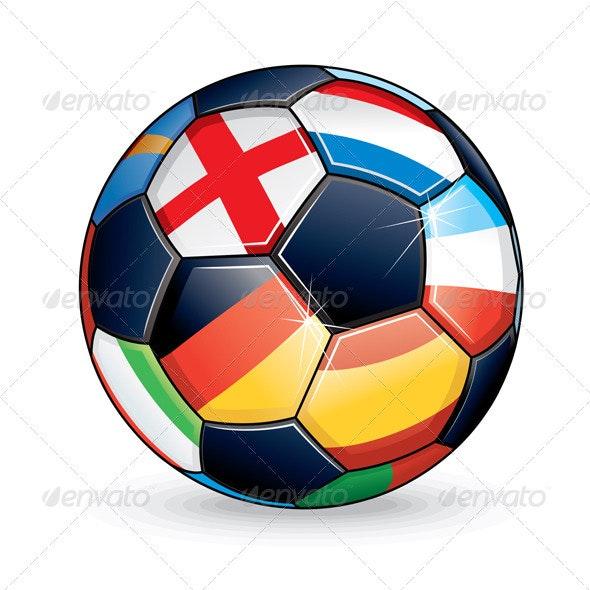 2012 Soccer Ball - Sports/Activity Conceptual