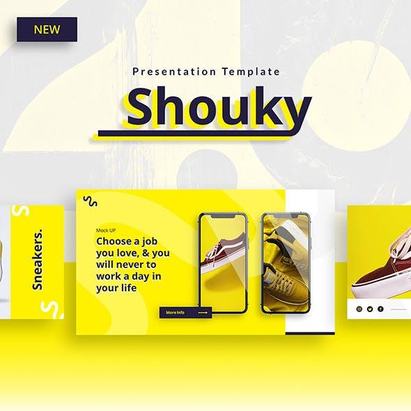 Shouky – Creative Business Keynote Template