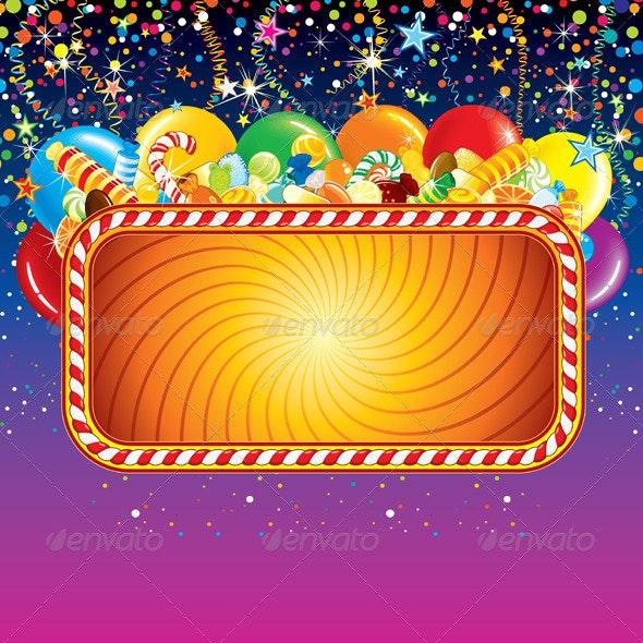 Birthday Feast Billboard - Seasons/Holidays Conceptual