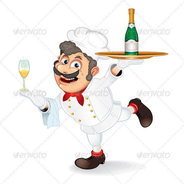 Cartoon Chef - People Characters