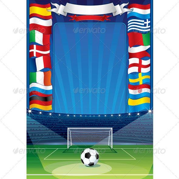 Euro Soccer Background