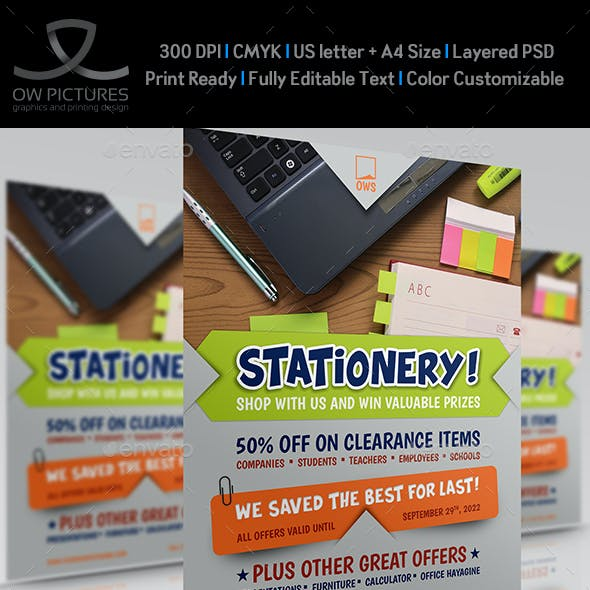 Stationery Products Flyer Vol.2