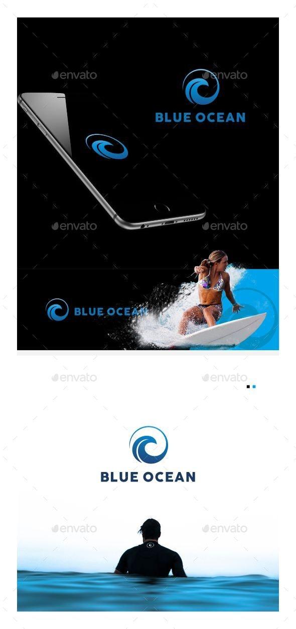 Blue Ocean - Sports Logo Templates