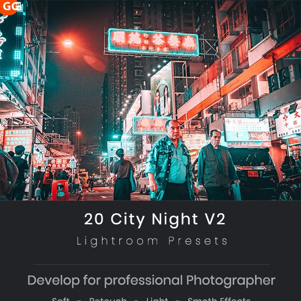 City Night Lightroom Presets V2