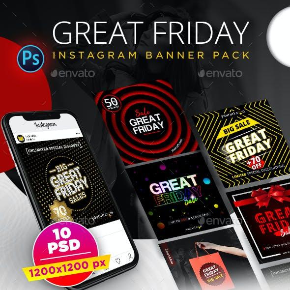 Great Friday Instagram Banner