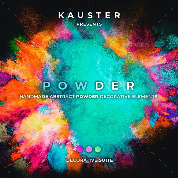 120 Powder Decorative Elements