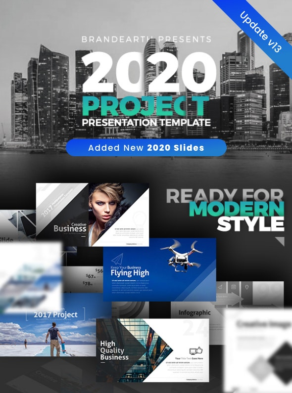 2017 Project Presentation Template - Business PowerPoint Templates