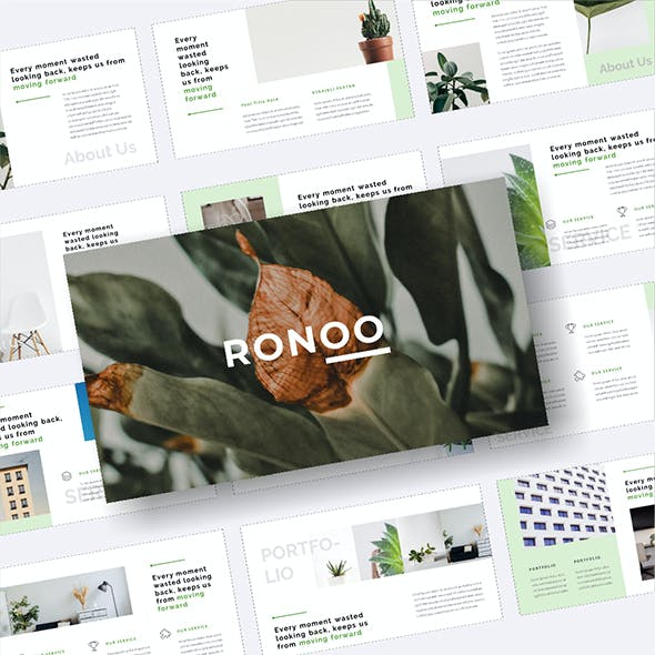 Ronoo – Creative Business PowerPoint Template