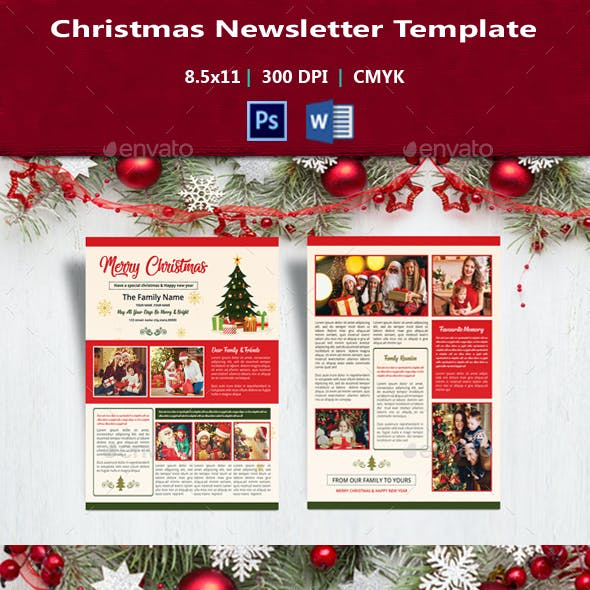 Christmas Newsletter V01