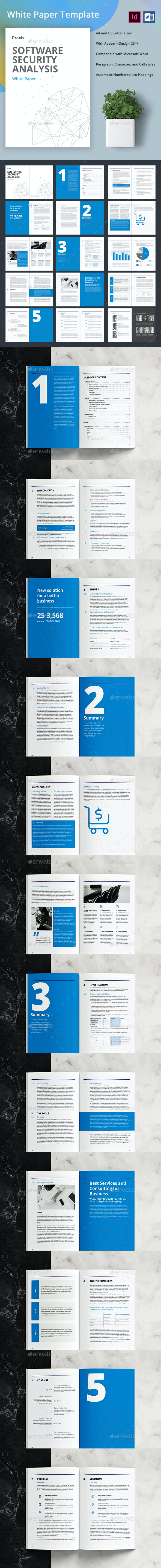 White Paper Template - Corporate Brochures