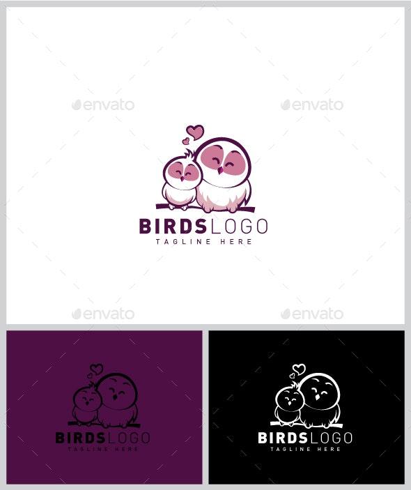Birds Logo - Animals Logo Templates