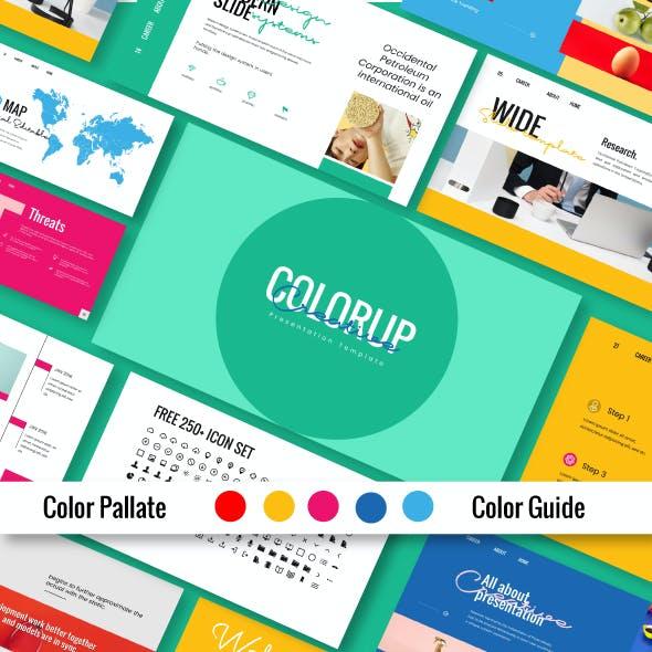 Colorup Keynote Template