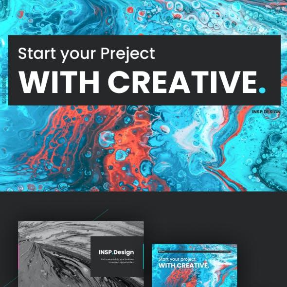 Keynote Template - Creative Pro