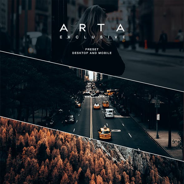 ARTA Exclusive Preset For Mobile and Desktop Lightroom