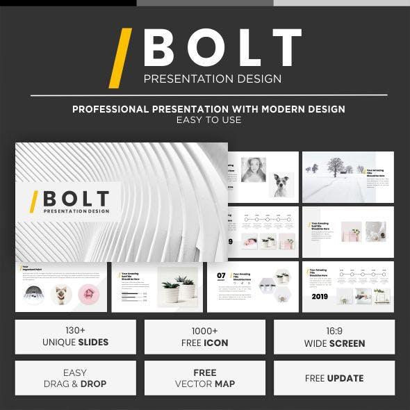 Bolt Keynote Template