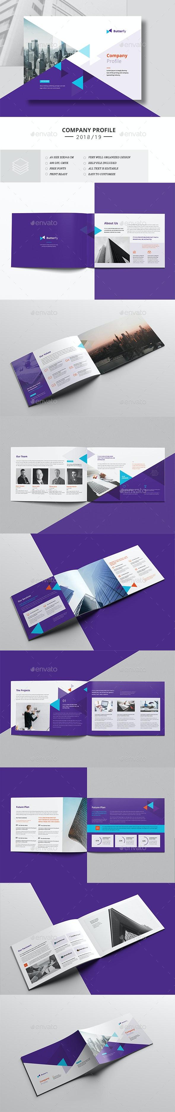 Corporate Brochure Landscape A5 - Corporate Brochures