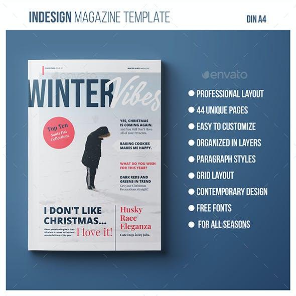 Magazine Template | Winter Vibes