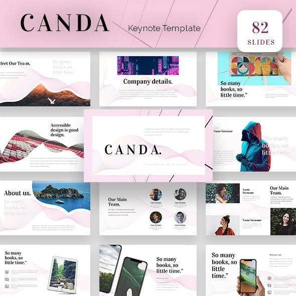 Canda Keynote Presentation Template