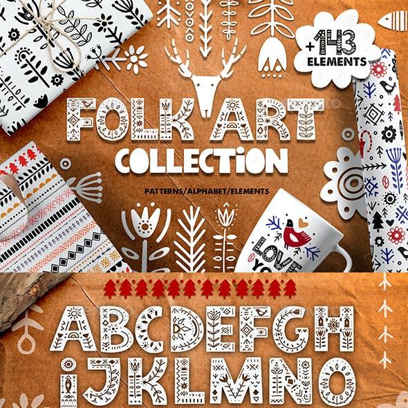 Folk Art Graphic Collection