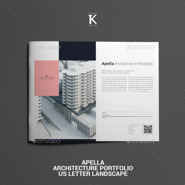 Apella Architecture Portfolio US Letter Landscape