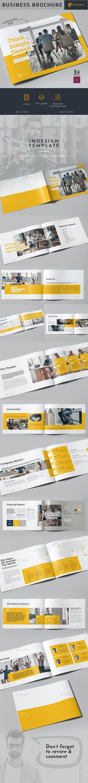 Business Brochure - Landscape - Corporate Brochures