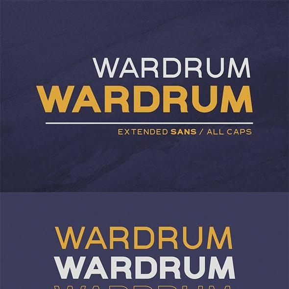 WARDRUM - Expanded Sans