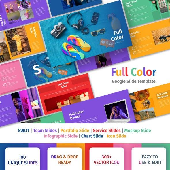 Full Color - Multipurpose Google Slide Template