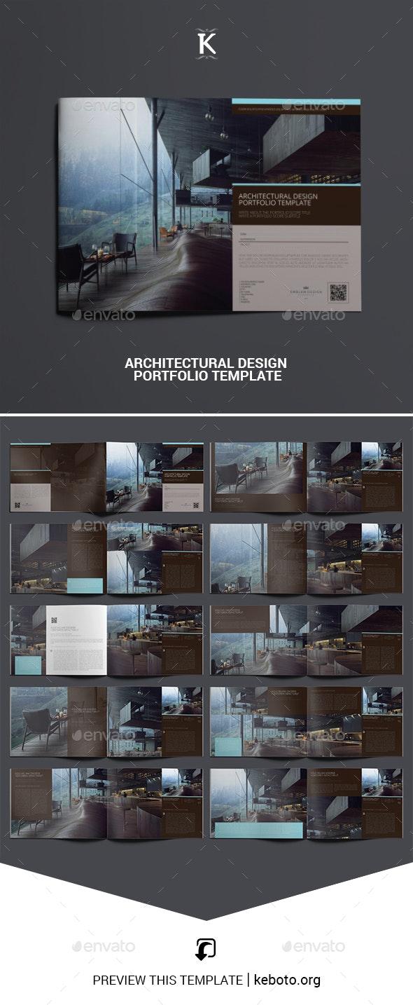Architectural Design Portfolio Template - Portfolio Brochures