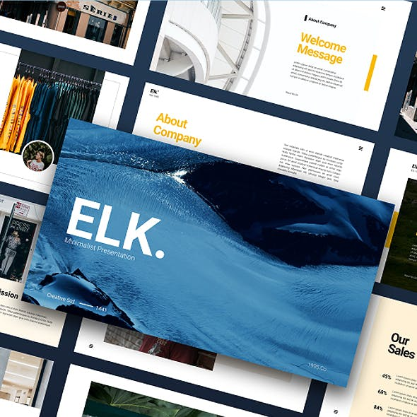Elk - Fashion Presentation Powerpoint Template
