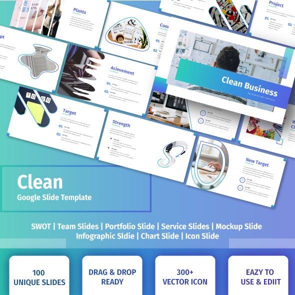 Clean - Business Google Slide Template