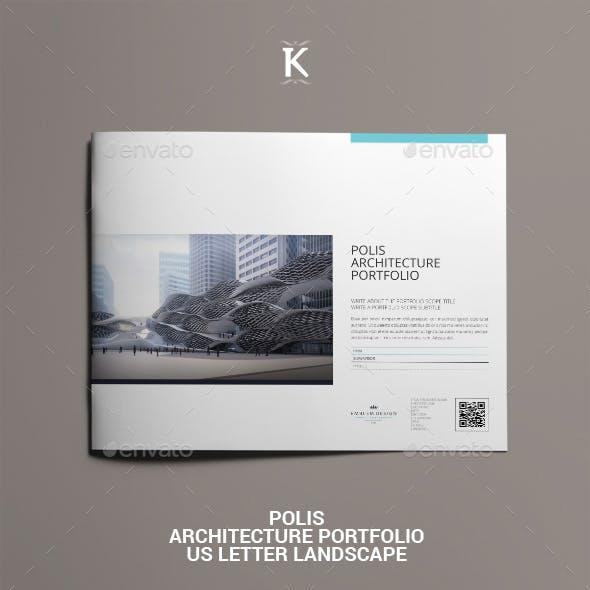 Polis Architecture Portfolio US Letter Landscape