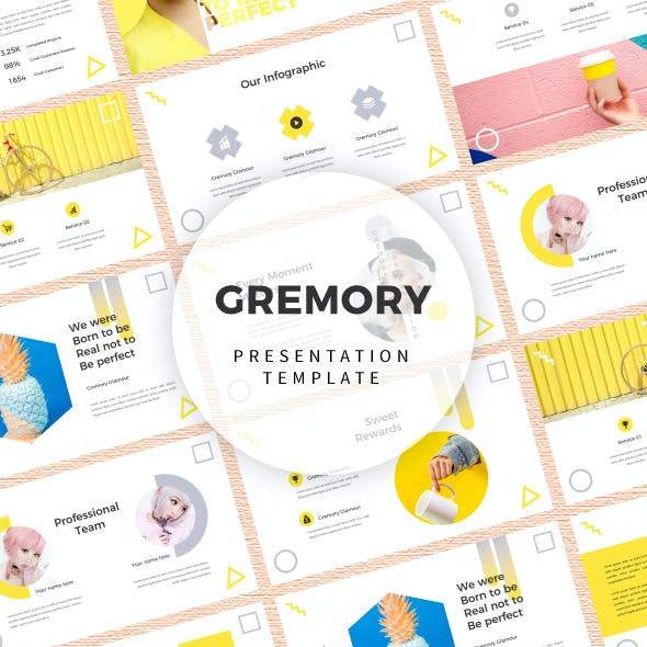 Gremory Keynote Presentation Template