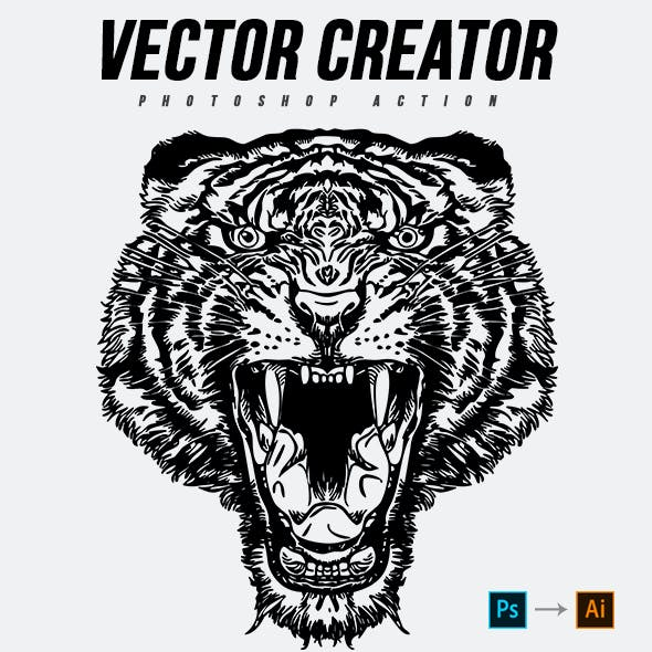 Vector Creator Photoshop Action