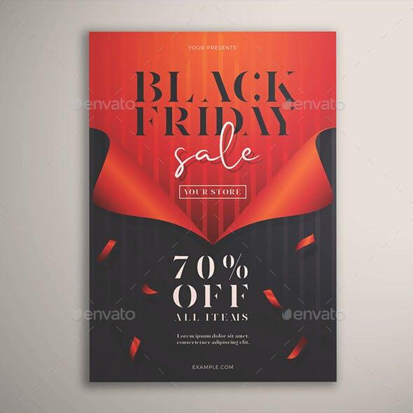Black Friday Sale Flyer Vol. 01