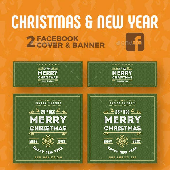 Christmas New Year Facebook