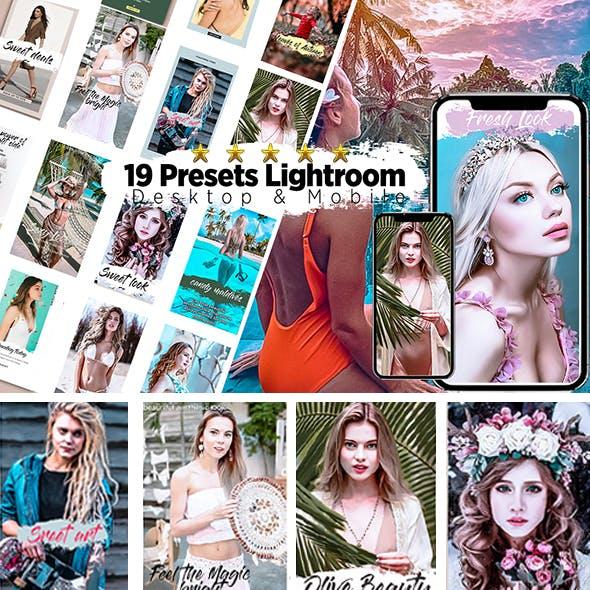 19 Presets Desktop & Mobile