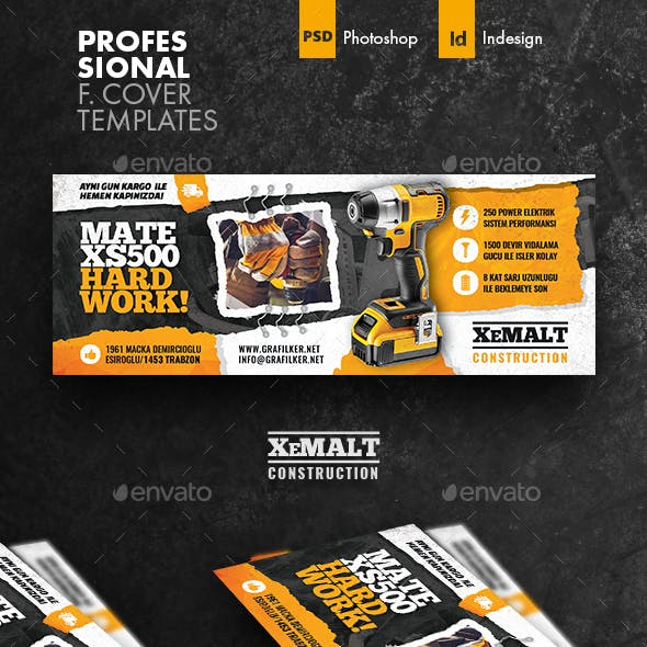 Construction Cover Templates