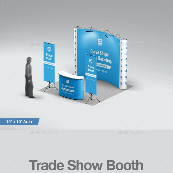 Trade Show Booth Mock-up v2