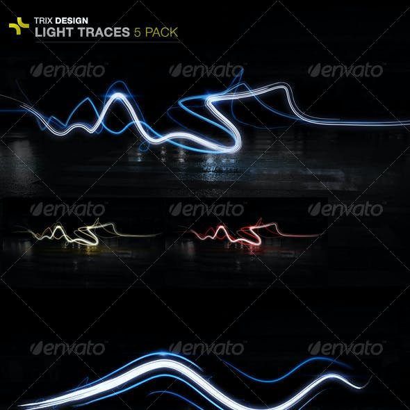 Light Trails - 5 Pack