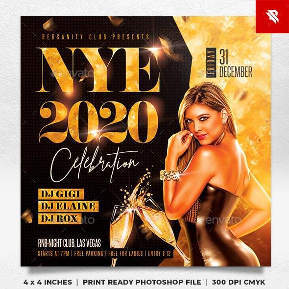 NYE Celebration Flyer