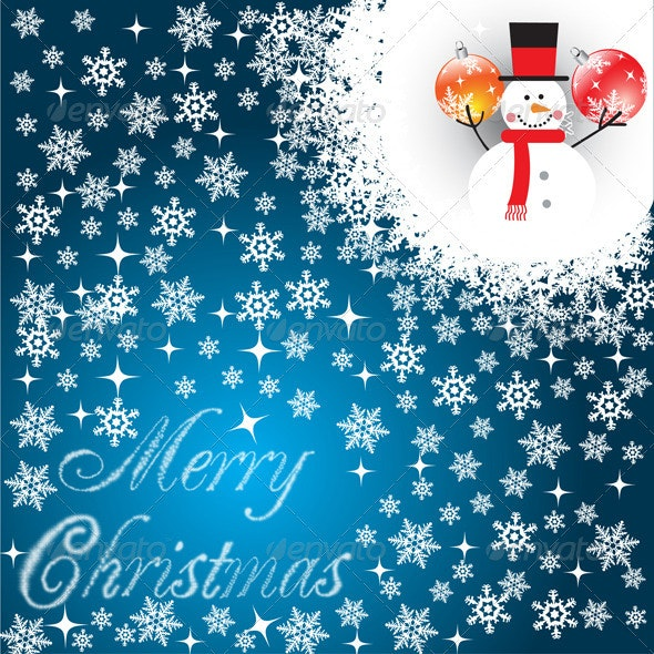 Marry Christmas background - Backgrounds Decorative