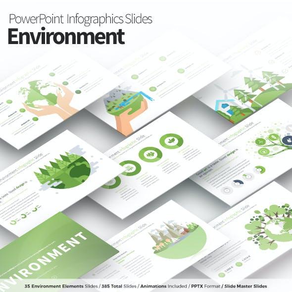 Environment - PowerPoint Infographics Slides